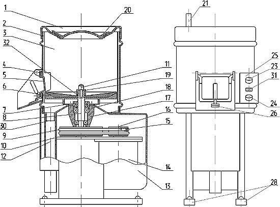 Устройство и работа машины картофелеочистительной