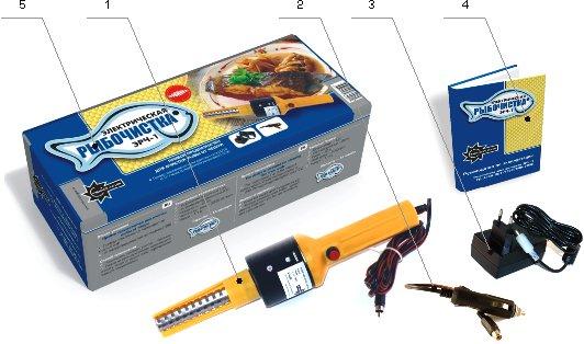 инструкция для электрической рыбочистки ЭРЧ-1