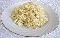 Нарезка соломкой картофеля